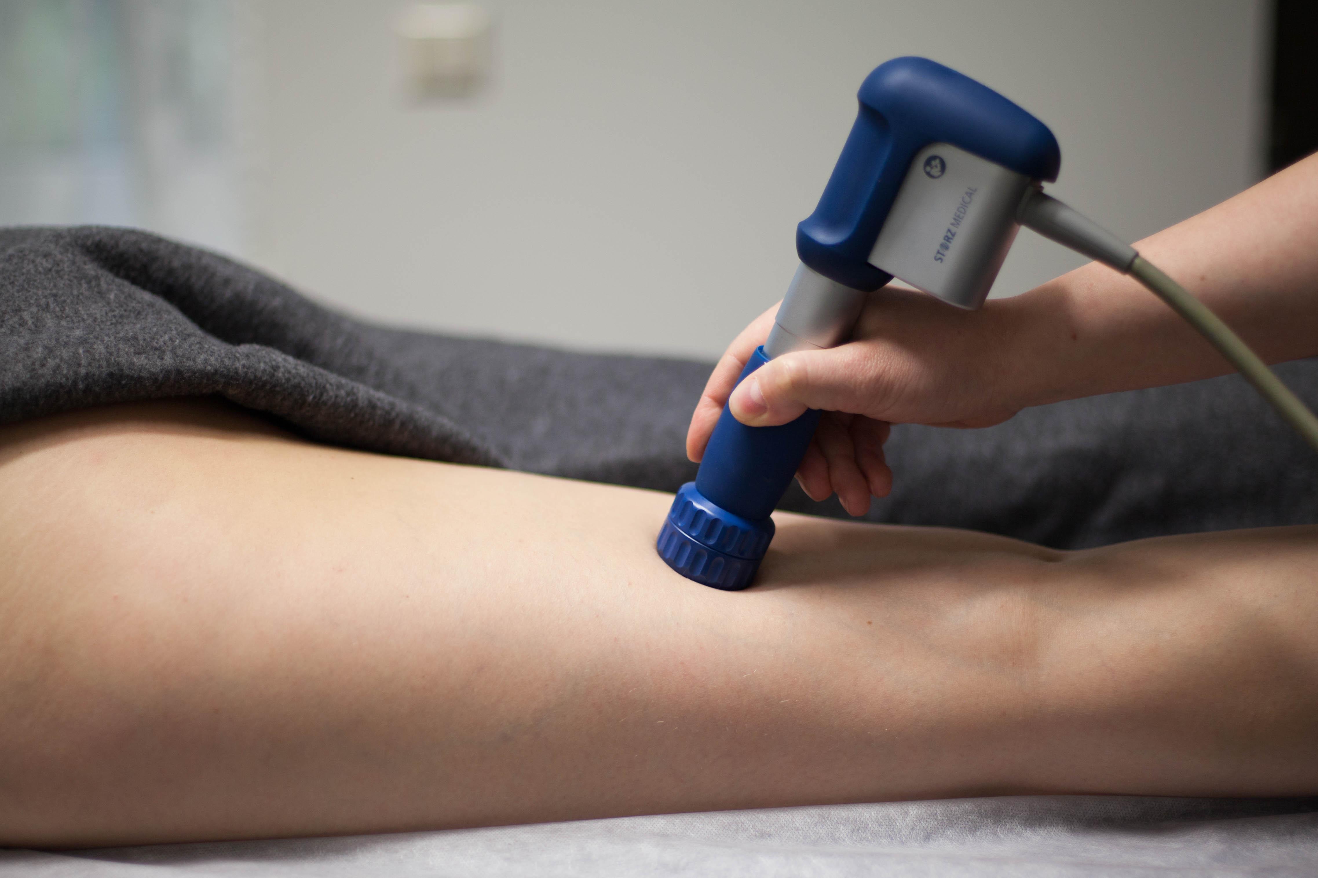 Smūginės bangos terapija (akustine banga) celiulito gydymui.