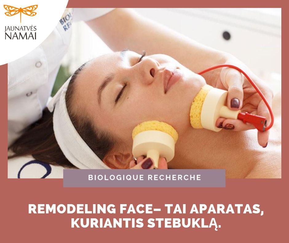 REMODELING FACE veido valymo ir drėkinimo procedūra
